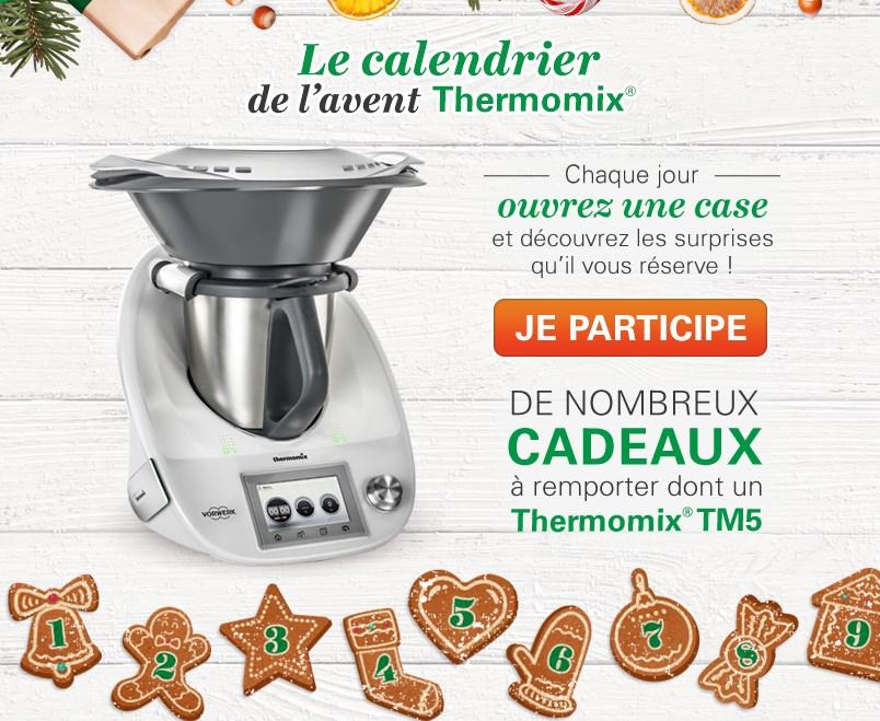 Calendrier De Lavent Thermomix.Jeu Concours Thermomix N 294556 26 297 De Lots A Gagner